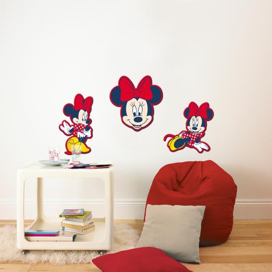 Minnie Mouse muursticker