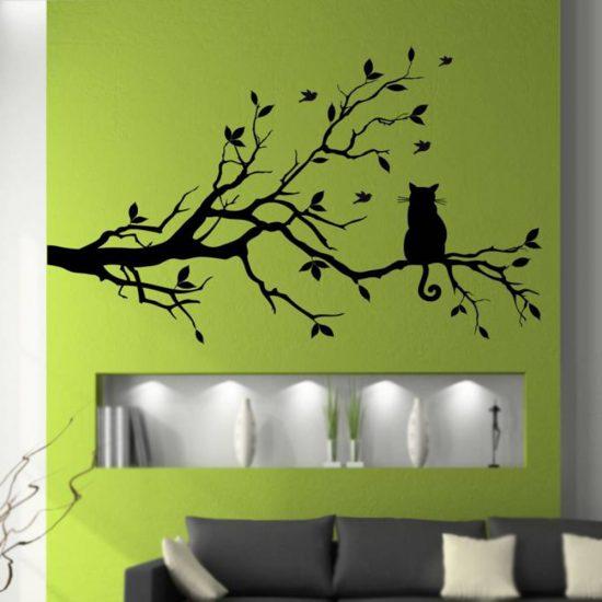 kat-in-boom-muursticker-woonkamer-slaapkamer-wandsticker-interieursticker