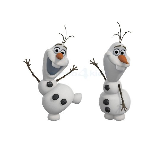Olaf-Frozen-Muursticker