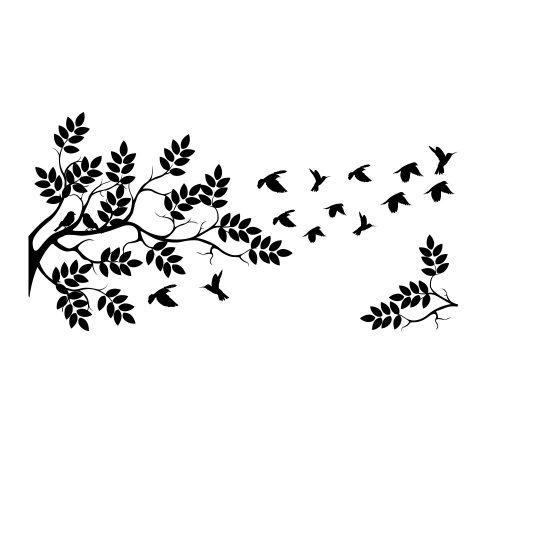 boom-muursticker-zwart-wit-