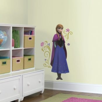 Anna Frozen muursticker kinderkamer film bioscoop disney
