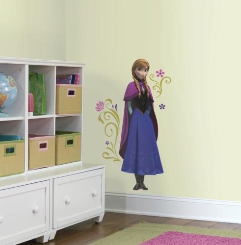 Anna Frozen muursticker kinderkamer film bioscoop disney