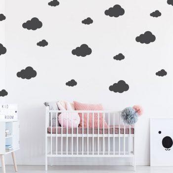 muursticker-wolken-stickers-babykamer-wolkjes-diy-ideeen-leuk-zwart-wit