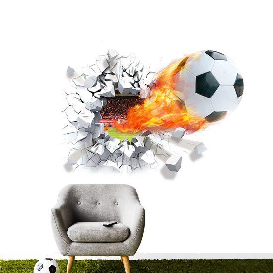 3d-voetbal-muursticker-kinderkamer-vuur-door-muur-stadion-wandsticker-ideeen-leuk