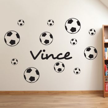 naam-muursticker-voetbal-stoer-kinderkamer-babykamer-set-goedkoop-zwart