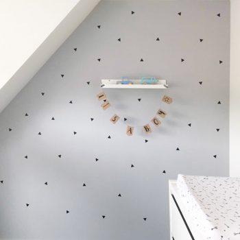 driehoekjes-muurstickers-driehoek-set-babykamer-kinderkamer-goedkoop-zwart-wit