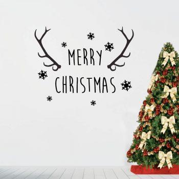 kerstfeest-muursticker-kerstmis-merry-christmas-muur-decoratie-kerst-zwart-wit-rood
