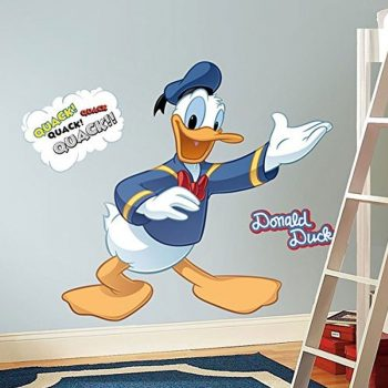 donald-duck-muursticker
