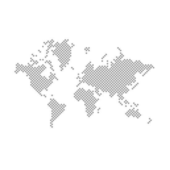 stippen-wereldkaart-muursticker-dotted