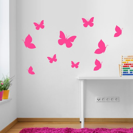 muurstickers-vlinders-set-kleurrijk-kinderkamer-goedkoop-butterflies-wallstickers