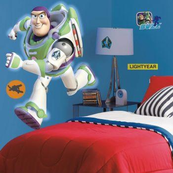 Buzz Lightyear toy story Muursticker