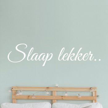 muursticker-slaap-lekker-welterusten-slaapkamer-wandsticker