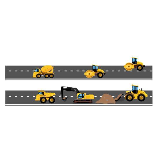 muurstickers-werkvoertuigen-autos