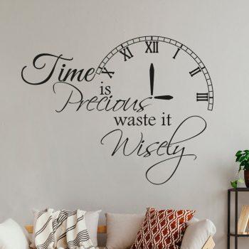 Time-waste-precious
