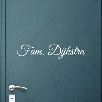 deursticker-familienaam-raam-voordeur-deur