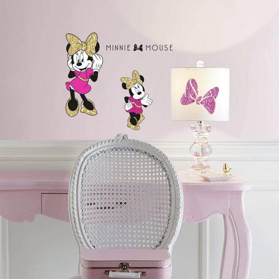 Disney-Minni-Mouse-muis-muursticker
