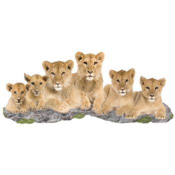 Muursticke-leeuwen-familie