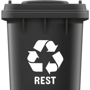 rest-afval-recycle-sticker-container-wit-zwart-groen