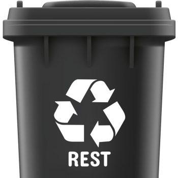 rest-afval-recycle-sticker-container-wit-zwart-groen