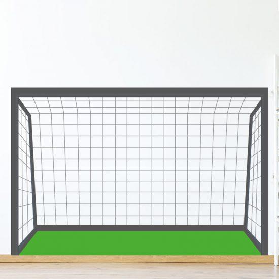 muursticker voetbal goal kinderkamer stoer ideeen leuk speels diy inspiratie