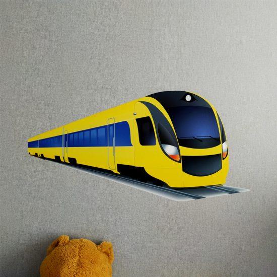 trein-muursticker