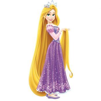 Disney Prinses Rapunzel muursticker XL